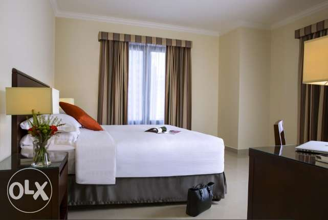 F/F 1-Bedroom Flat IN -{The Pearl Qatar}-