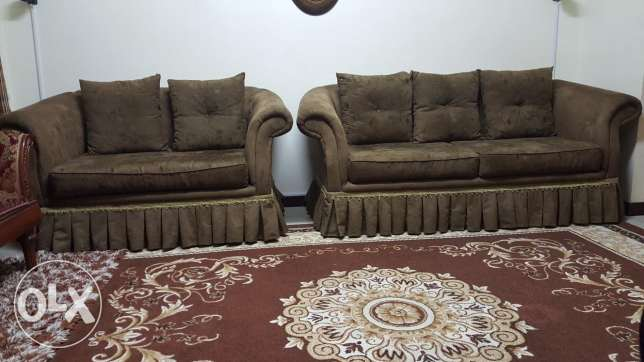 Durable and comfortable sofa set for urgent sale..