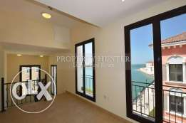 Beach front 3 bed townhouse in Qanat Quartier