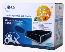 LG Super Multi - External DVD±RW (±R DL) / DVD-RAM drive - Hi-Speed US