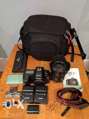 Canon camera EOS 5D mark ii For sell with bills