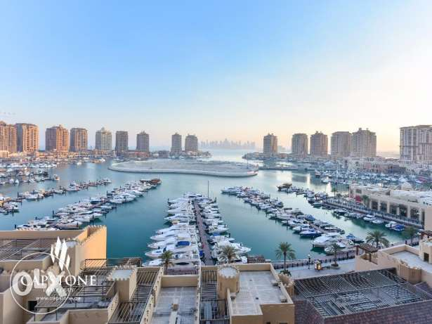 Fully-Furnished Apartment at Porto Arabia with Amazing Marina View