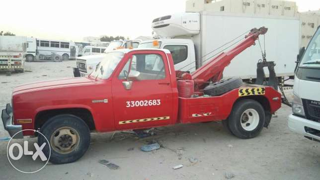 Gmc recovery vehicle .good condition