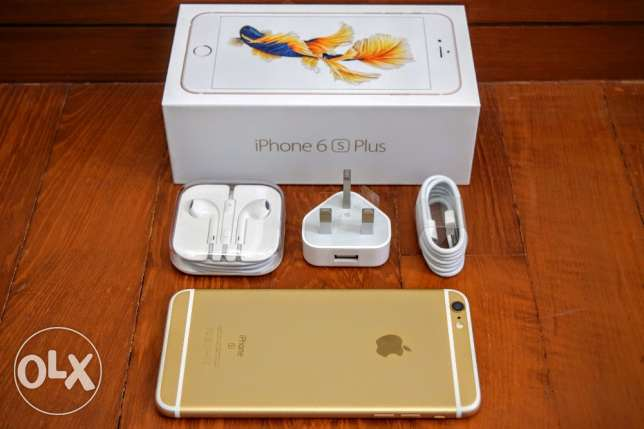 I phone 6 s plus 64 gb gold color