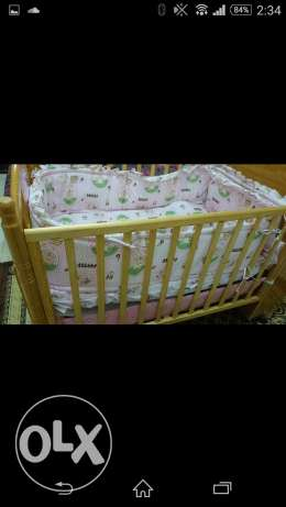 Crib with cover