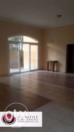 Semi Furnished 7-Bedrooms Villa in Ain Khaled For Bachelors عين خالد -  3