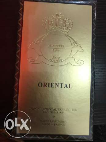 oriental perfume from Aljazeera perfumes new still closed 400 riyals