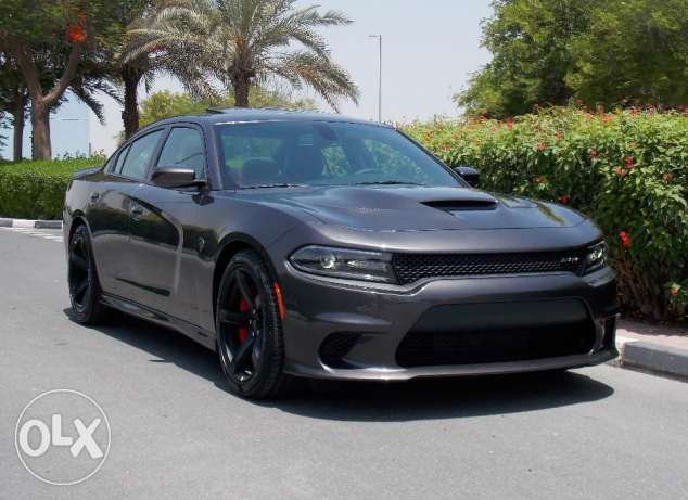 BRAND NEW 2017 Dodge Charger Hellcat V8 Supercharged Grey- Red Interio