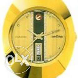 Gents Gold Plated Rado Super Retro Design Watch A gold plated automati