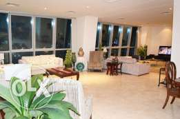 Semi Furnished 3+Maid's Room Apartment in Zigzag Tower