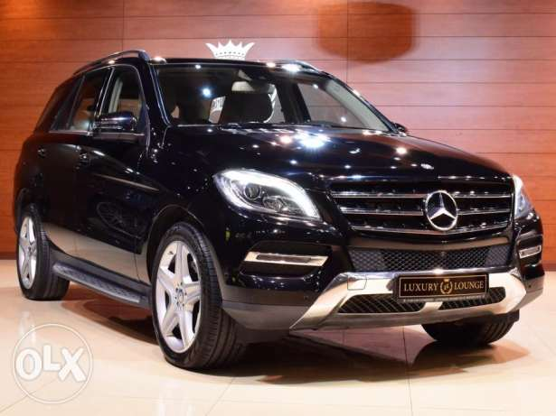 2015 Mercedes Benz ML400-4Matic , GCC Specs , Under Warranty