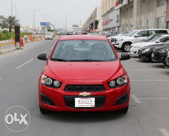 Chevrolet Sonic - ALL Color Avilable Model 2016