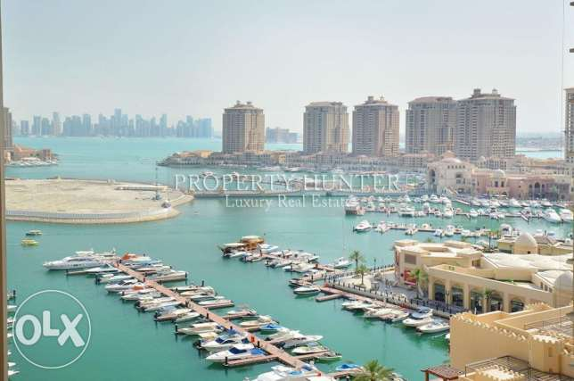 Both marina & sea views 1 Bed apartment