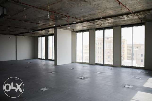 Office spaces for rent in a brand new bldg along B-Ring Road مطار الدوحة -  2
