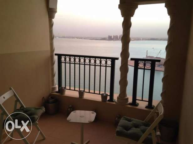 Furnished Studio Apartment with beautiful Seaside view & Private Beach