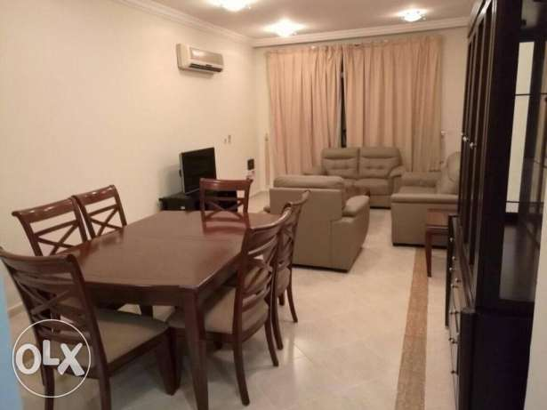 FULLY FURNISHED3- Bedroom 3 bathroom balcony nice flat in binmahmoud
