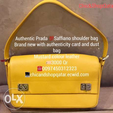 Authentic brand new Prada Saffiano