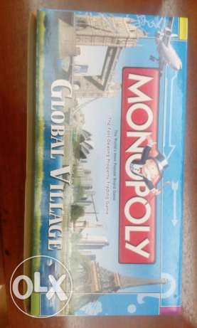 Brand new english monopoly board game