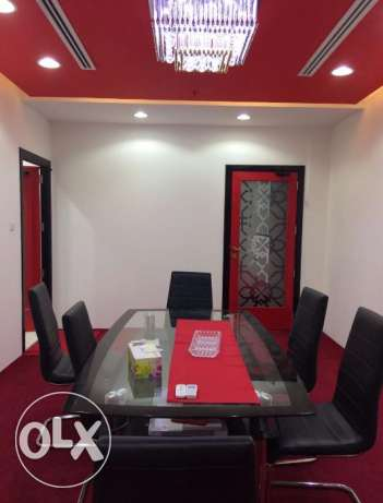 Fully/Furnished 2 Room office Space At Al Sadd
