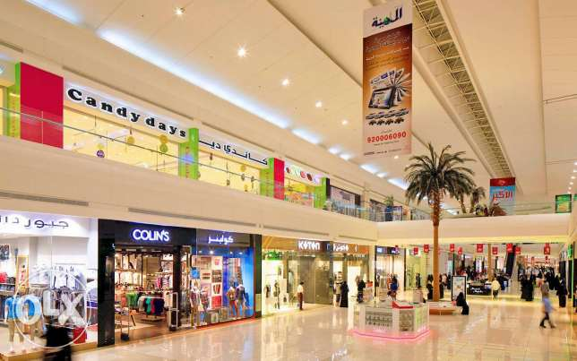 Shops in new mall