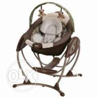 Graco electric swing