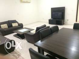 Luxury flat 3BR 8,750QR very big full faslties in compound good loctio