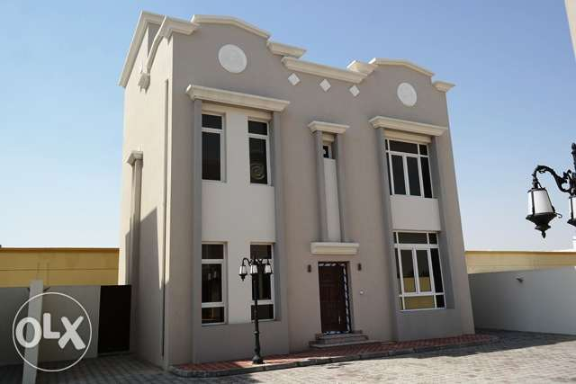 Only one company deal ,brand new 6bedroom villa with private back yard