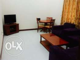 Fully furnished spacious 1 bedroom flat in Musherib
