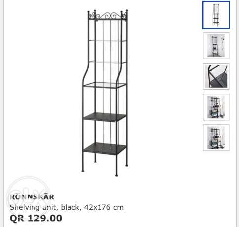 Ikea Fer Forge/Metal Shelf