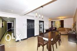 Gorgeous Fully Furnished 2 Bedroom Apartment in West Bay