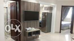 Brand new 1bhk fully/f qr5750/- At mughlina