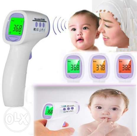 Generic Non Contact Infrared IR Thermometer Temperature Laser Gun Poin عين خالد -  2