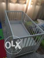 crib ikea (bought for 1000qr)