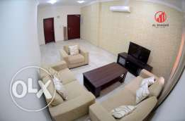 Al Nasr : 2-bedrooms flat Available for rent QR.7000