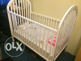 Juniors baby cart and mattress
