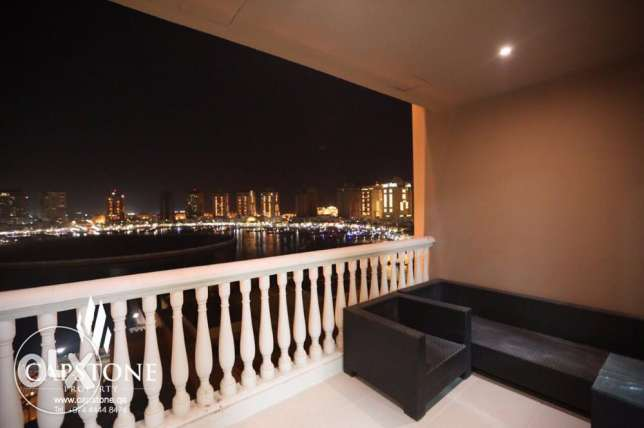 Full Marina View, 3BR Apartment For Sale at Porto Arabia الؤلؤة -قطر -  3