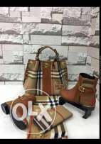 Killer Price #Burberry Bag & Wallet# In Hand.