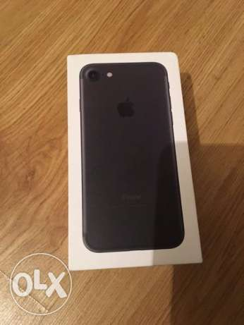 2 months used iphone 7 matte black for sale