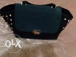 used green black bag for sale in good condition for sale for only 50