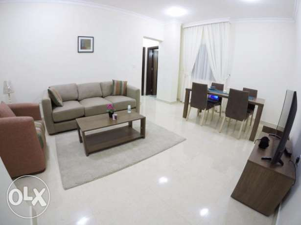 Brand New! Fully-Furnished 1-Bedroom Flat IN Doha Jadeed