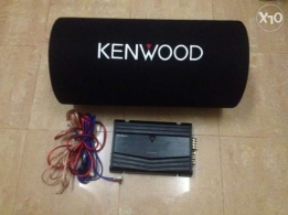 Kenwood Amplifier and subwoofer system