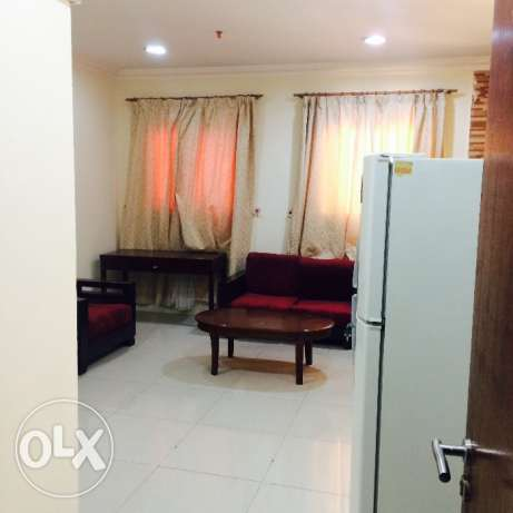 Spacious 1 bhk fully furnished flat in doha jadeed for family