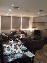Fully-Furnished, 3-Bedroom Flat at -AL Muntuzah-