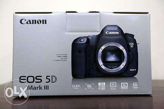 Brand new Canon EOS 5D mark iii camera