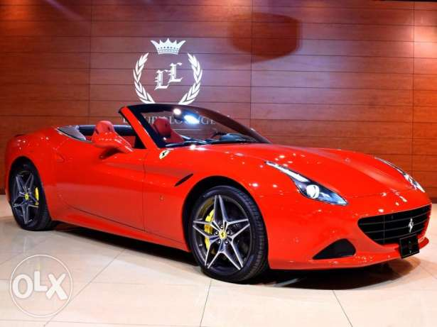 2017 Ferrari California T, Warranty and Service Contract from Dealer,G