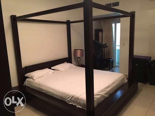 Bed, Side tables and Wardrobe الريان -  1