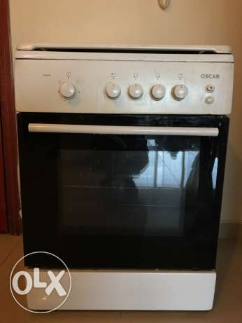 OSCAR - Gas cooking range with grill for sale - QR 400