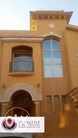 Unfurnished 5-BHK Villa in AL Gharrafa/Gym/Pool+1-FREE MONTH,13500QR