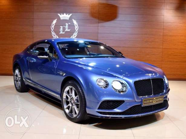 2016 Bentley Continental GT V8S, GCC Specs, Under warranty From Dealer