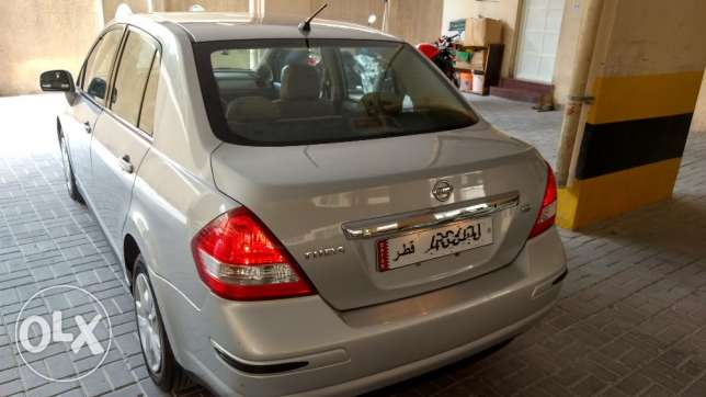Nissan Tiida 2012 - Mileage below 78000 KM